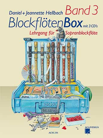 BlockflötenBox Band 3 met 3 CD\'s