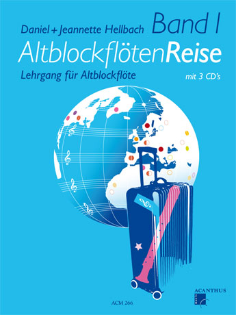 AltblockflötenReise Band 1 with 3 CD's