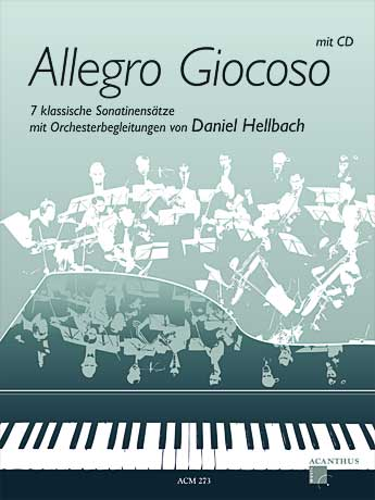 Allegro Giocoso - 7 classical sonatines with CD