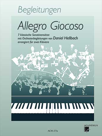 Allegro Giocoso - Accompaniments for 2 pianos