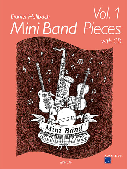 Mini Band Pieces Band 1 (inkl. CD)