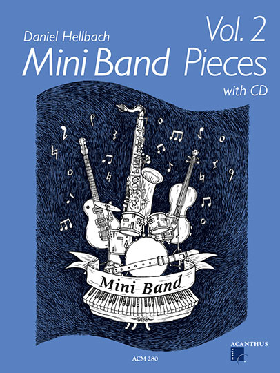 Mini Band Pieces Band 2 (inkl. CD)