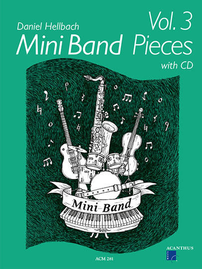 Mini Band Pieces Vol. 3 (with CD)