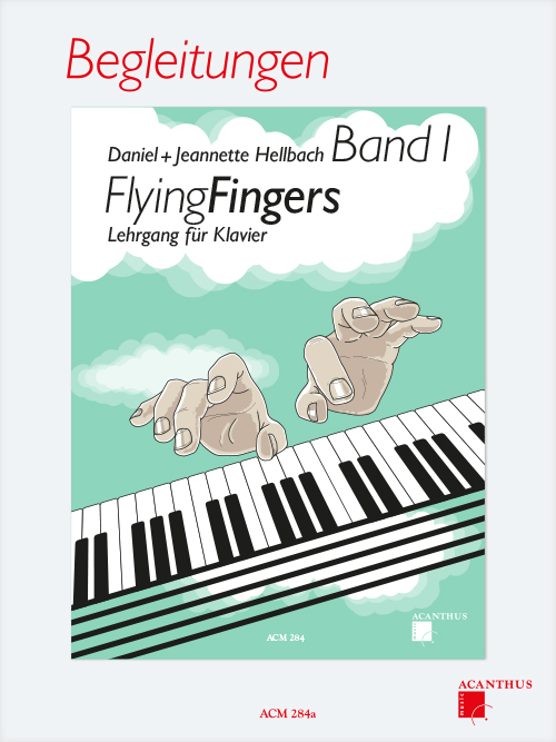 Flying Fingers Vol. 1, ACCOMPANIMENTS