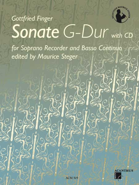 Gottfried Finger: Sonate G-Dur (mit CD)
