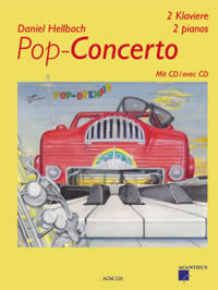 Pop-Concerto mit CD, VERSION pour 2 PIANOS