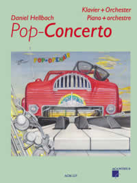 Pop-Concerto, PARTITUUR